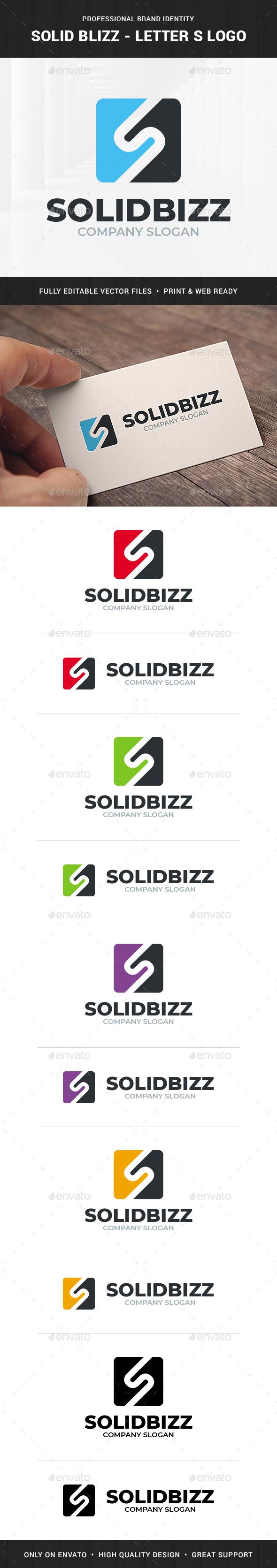 Solid Bizz - Letter S Logo