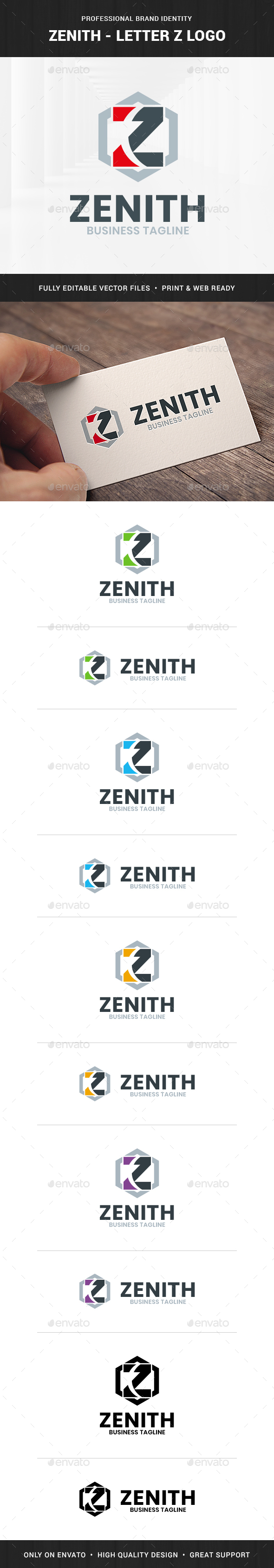 Zenith - Letter Z Logo
