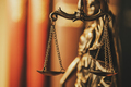 Brass Scales of Justice in a close up view - PhotoDune Item for Sale
