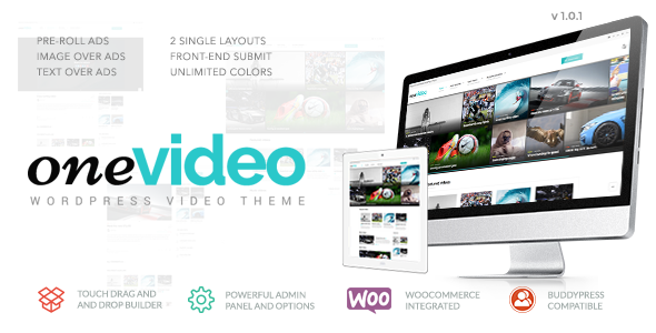 OneVideo - Video Community & Media WordPress Theme