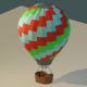 Low Poly Hot Air Balloon - 3DOcean Item for Sale