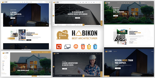Habikon - Architecture & Interior HTML Template
