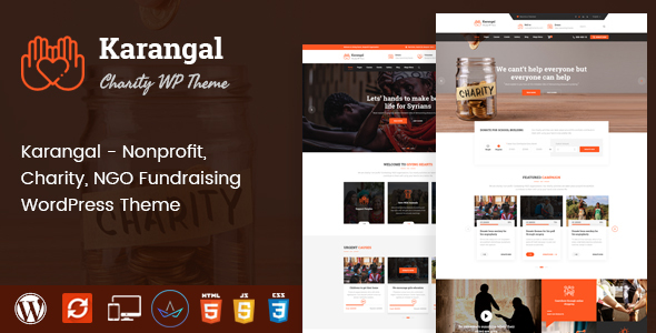 Karangal - Charity WordPress Theme