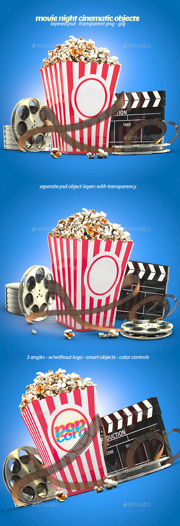 3D Object Renders & Graphic Designs - GraphicRiver