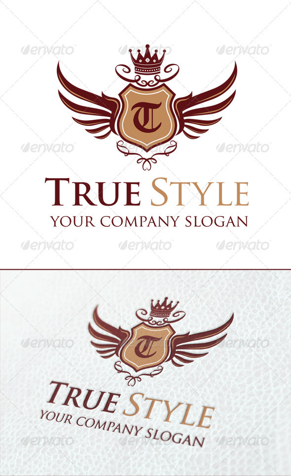 True Style Logo Template