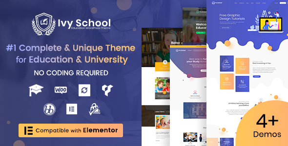 IvyPrep | Education & School WordPress Theme