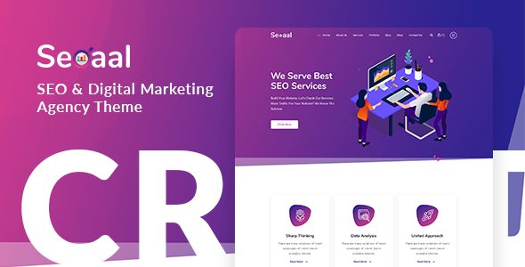 Seoaal - SEO & Digital Marketing WordPress Theme