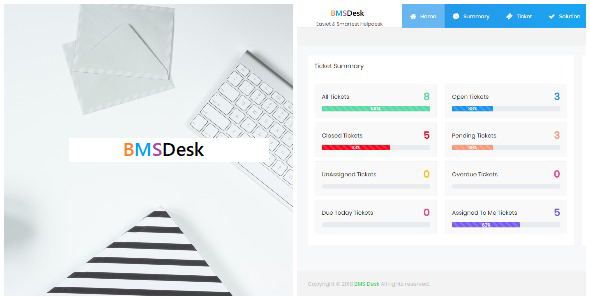BMSDesk - Helpdesk Ticket System