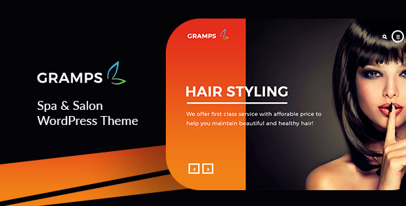 Gramps -   Spa & Salon WordPress Theme