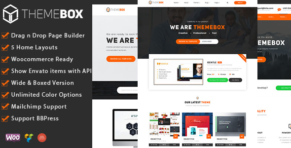 Themebox - Digital Products Ecommerce WordPress Theme