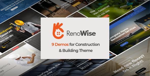 RenoWise - Construction & Building Theme
