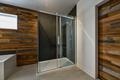 Modern bathroom with barn wood European shower - PhotoDune Item for Sale