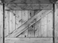 Small barn window shutter in black and white - PhotoDune Item for Sale