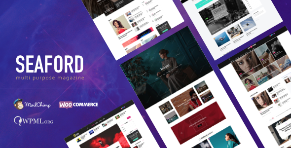 Seaford - Multi-Purpose Magazine WordPress Theme