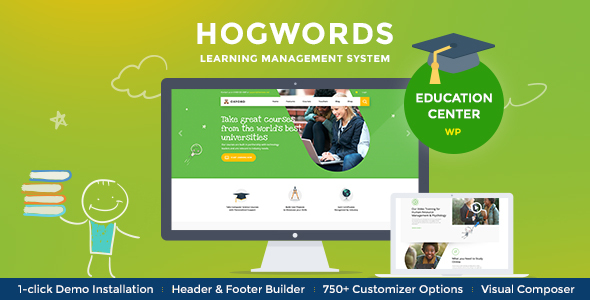 Hogwords | School, University & Education Center WordPress Theme