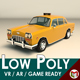 Low Poly Taxi Cab 01 - 3DOcean Item for Sale