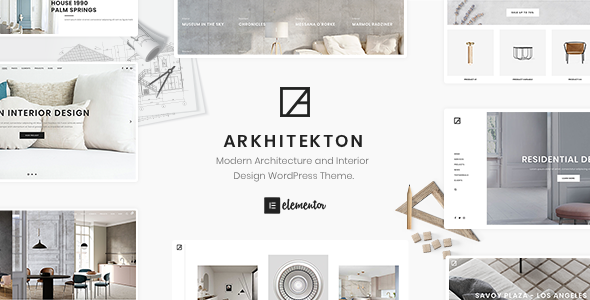 Arkhitekton - Modern Architecture and Interior Design WordPress Theme