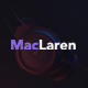 MacLaren - Personal Portfolio Ajax Template - ThemeForest Item for Sale