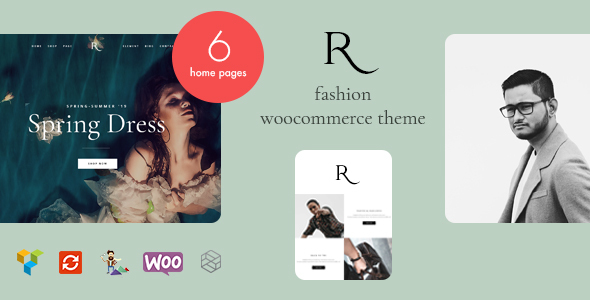 Rion - Fashion WordPress Theme for WooCommerce