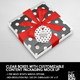 Clear Square Boxes with Customizable Content Packaging Mockup - GraphicRiver Item for Sale