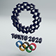Tokyo 2020 Olympic Games Logo - 3DOcean Item for Sale