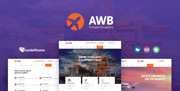 AWB - Transport & Logistics WordPress Theme