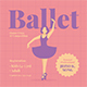Ballet Flyer Set - GraphicRiver Item for Sale