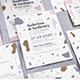 Terrazzo Wedding Invitation - GraphicRiver Item for Sale