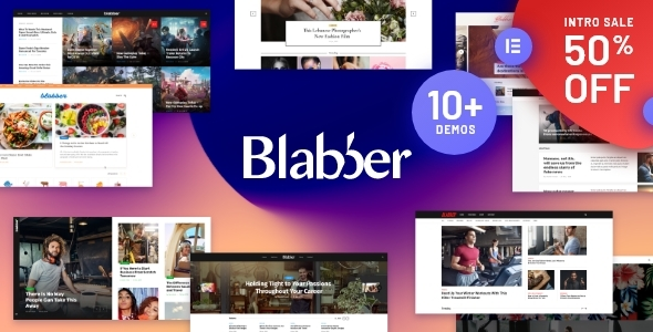 Blabber | All-in-One Elementor Blog & News Magazine WordPress Theme + RTL