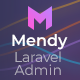 Mendy - Laravel Admin Framework with CRUD builder - ThemeForest Item for Sale