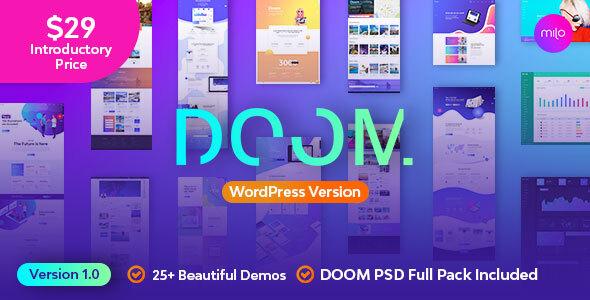 Doom - Multi-Purpose WordPress Theme 1