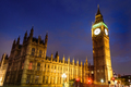 Big Ben Clock Tower and House of Parliament in the night, London, UK - PhotoDune Item for Sale