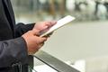 Professional businessman use digital tablet - PhotoDune Item for Sale