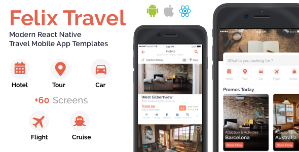Make A Restaurant App With Mobile App Templates from CodeCanyon