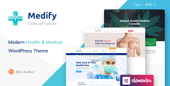 Medify - Health & Clinic WordPress Theme
