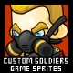 Custom Soldiers - Game Sprites - GraphicRiver Item for Sale