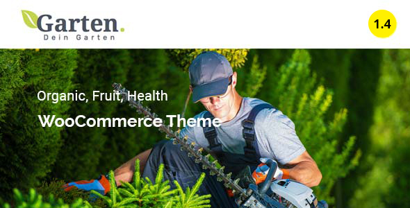 Garten - Farmer Shop WooCommerce Theme