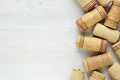 Set of wine corks with copy space - PhotoDune Item for Sale