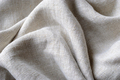 Gathered and folded texture of woven linen fabric - PhotoDune Item for Sale