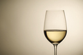 Wineglass with white wine and copy space - PhotoDune Item for Sale