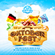 Oktoberfest Festival Square Flyer vol.1 - GraphicRiver Item for Sale