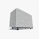 The Qube Building - 3DOcean Item for Sale