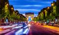 Illuminated Champs Elysee - PhotoDune Item for Sale