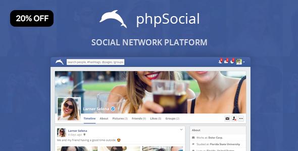 phpSocial - platforma sieci społecznościowych