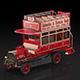 Retro bus - 3DOcean Item for Sale