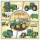 Flat Agricultural Transport Concept - GraphicRiver Item for Sale