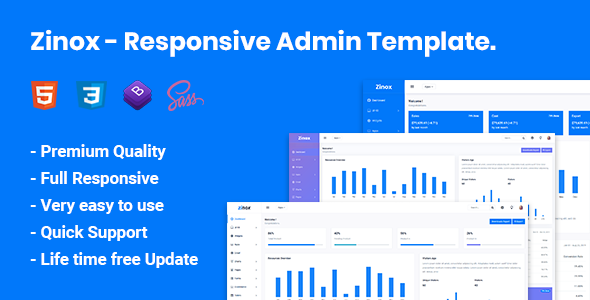 Bootstrap HTML Website Templates from ThemeForest