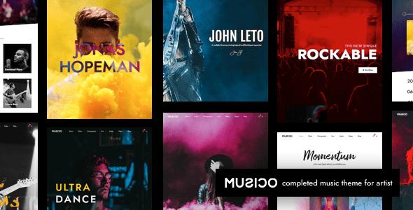 Muslco | Music WordPress