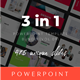 3 in 1 Multipurpose PowerPoint Template(Vol.09) - GraphicRiver Item for Sale