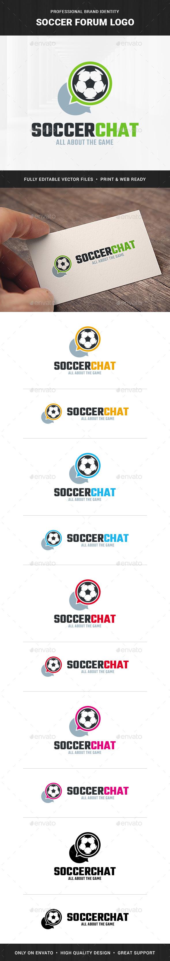 Soccer Forum Logo Template